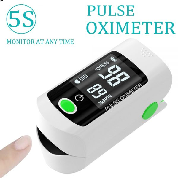 Pulse Oximeter by 5S This Pulse Oximeter can be used to measure human oxygen saturation, and pulse rate through finger. It is suitable for family monitoring and for athletes that would like to measure their oxygen levels.