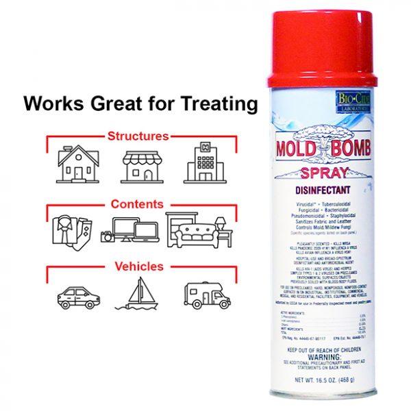mold bomb fogger spray