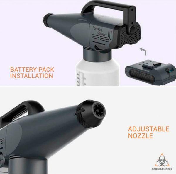 Mr. Spray Portable ULV Fogger