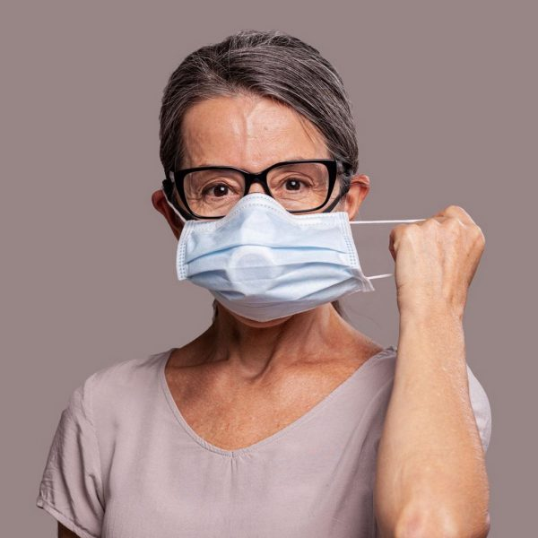 O2 Curve Surgical Mask Adapter