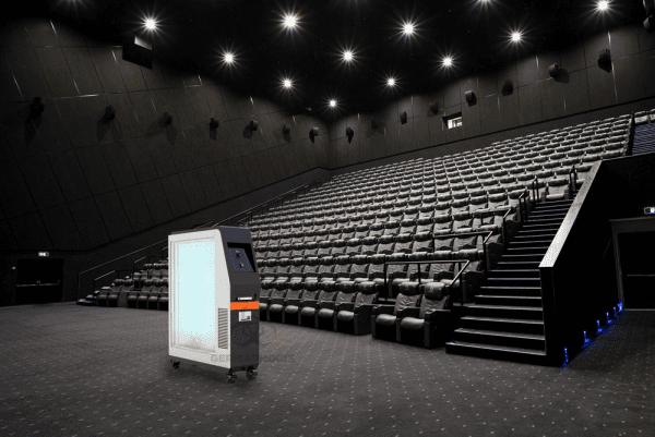 Neutralizer UVC Sterilizer Light for Theaters