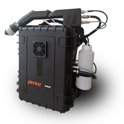 Jereh electrostatic backpack sprayer disinfectant
