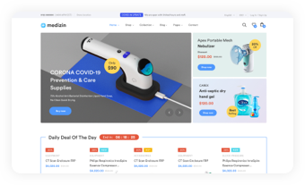 Landing Allow users to build their own fast-loading online store easily without coding skills