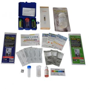 EASY WELL WATER TEST KIT PRO + BACTERIA, LEAD, PESTICIDE TESTS