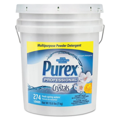 Purex Laundry Detergent Powder, Fresh Spring Waters, 15.6 lb. Pail (DIA06355)