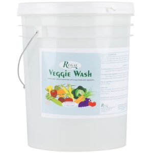 Regal Veggie Wash - Fruit and Vegetable Wash - 5 Gallon Pail