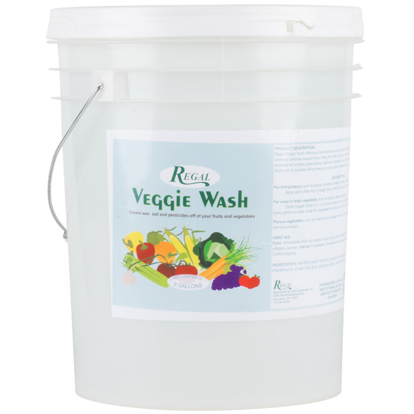 Regal Veggie Wash - Fruit and Vegetable Wash - 5 Gallon Pail