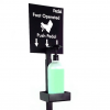 Pedal - foot operated hand sanitizer