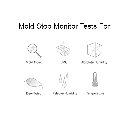 Biomatrix Mold Monitor - Mold Detector The Biomatrix mold monitor is more than the most technologically advanced smart home mold detector on the market. With the purchase of a Biomatrix device, your system will be monitored by a team of specialists, ensuring that your home is scanned for signs of trouble 24/7. Our unique system combines professional grade sensors, cutting-edge mold predictive algorithms, and a team of industrial hygienists alongside certified mold analysts to help identify and resolve potential environmental health risks before they start.