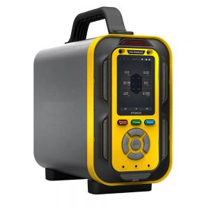 Zetron PTM600 6-in-1 Flue Gas Analyzer PTM600 flue gas analyzer has the function of measuring the gas concentration for O2/CO/CO2/H2S/CH4/H2 at the same time, suitable for chemical plant, power plant, landfill, incineration station, port, sewage treatment plant, storage facilities, underground facilities, and more. The product is provided with high measurement precision, stable performance and simple operation and convenient to carry. It is possible to simultaneously detect 1 ~ 6 types of gases, which can be expanded to 18 or more types of gases, and the types for detection are more than 500 types.